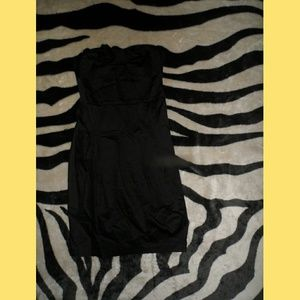 Black Strapless Small Forever 21 Dress With Bow